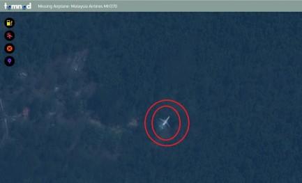 Um avião desaparecido e o Tomnod