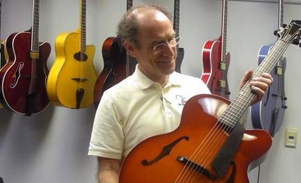 O Stradivari das archtops
