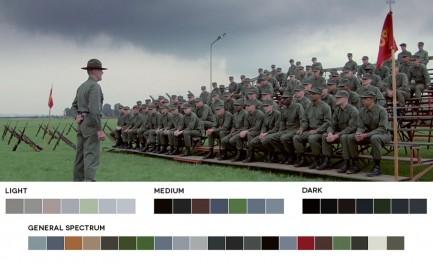Cores da película