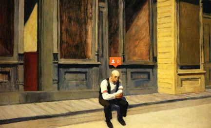 Um Edward Hopper atualizado