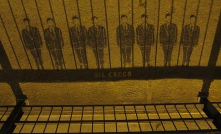 Sob os pés: arte de guerrilha